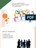 Designing Organizational Structure (Adaptive Designs)