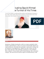 Review Situating Sayyid Ahmad Khan in the Turmoil of His Times