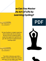 How Can You Master the Art of Life by Learning Cycling?
