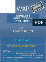 WAP(Wireless Application Protocol)