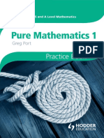 Cambridge International AS and A Level Mathematics Pure Mathematics 1 Practice Book.pdf
