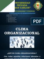 Clima Organizacional Diapositivas