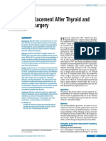 Thyroid Replacement Therapy