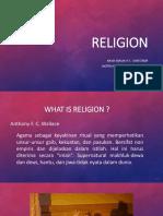 Religion-Antropology