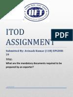 Import Documentation - Do & Dont