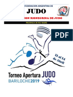 Reglamento Nacional Apertura 2019 Bariloche
