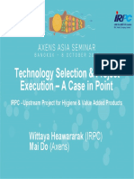 2_Technology Selection & Project Execution – A Case in Point IRPC - Upstream Project for Hygiene & Value Added Products.pdf