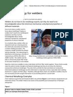 Basic Metallurgy for Welders - The Fabricator