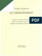DURAND, Gilbert, Lo imaginario, 2000.pdf