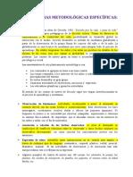 Estrategias Metodológicas Específicas. Modulo IV