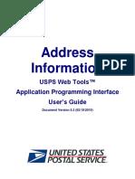 Address Information API