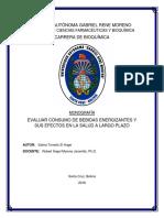 Bebidas Energizantes - Monografía (Revisado)