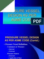 Pvdci 1.2 Pressure Vessel Design as Per Asme
