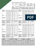 Cae Mark Sheet