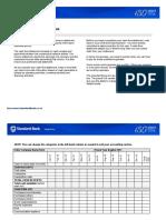 12-Month Cash Flow Statement Worksheet