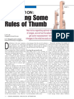 Revisiting Some Rules of Thumb