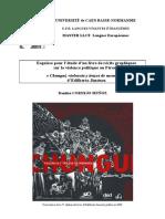 Histoire du Livre - Chungui - Jiménez