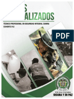 Tecnico Profesional en Seguridad Integral Canina Cohorte 012