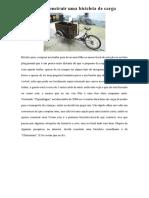Como Construir Uma Bicicleta de Carga