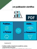 Faltas Éticas en Publicación Científica