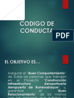 Codigo de Conducta Presentacion
