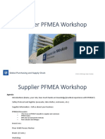 Supplier PFMEA Workshop Rev 120814 Outvideo