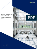 Microsoft Dynamics 365 Business Central Prospect Engagement Guide