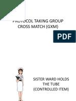 PROTOCOL TAKING GROUP CROSS MATCH (GXM).pptx