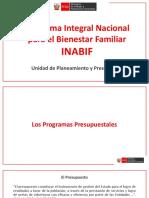 Orientacion ProgramasPresupuestales INABIF