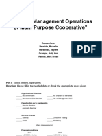 Financial Management Operations