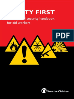 Safety First-A Safety and-security Handbook for Aid Workers