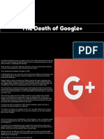 """Camito Hatsune - """"The Death of Google+ """""""