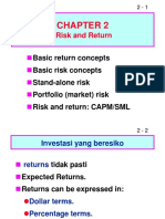 ch02 risk and return