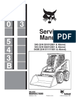 BOBCAT 540 SKID STEER LOADER Service Repair Manual SN 501012001 & Above.pdf