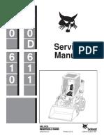 BOBCAT 600D SKID STEER LOADER Service Repair Manual.pdf