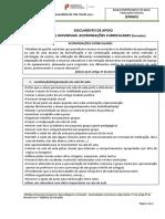 EMAEI Acomodações Curriculares Med. Universais