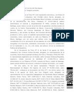 Resolución Recurso de Protección Macul/Cuca (9 de abril 2019)
