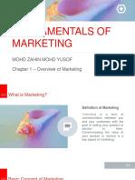 Fundamentals of Marketing CH 1