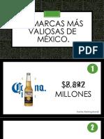 10 Marcas Más Valiosas de Mexico