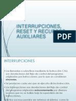 INTERRUPCIONES, RESET Y RECURSOS AUXILIARES PIC16F84.pdf