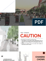 Chandni Chowk Renewal Plan - Sensitivity to Conservation