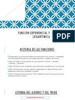 Funcion Exponencial y Logaritmica