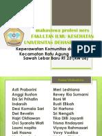 Daftar Peserta Baksos Rt 01