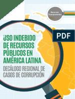 Uso Indebido de Recursos Públicos en América Latina