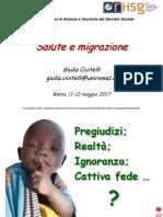 Salute e Migrazione_scenari Socio Demografici