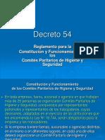 Decreto 54