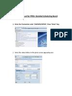 3 Detail Scheduling Board