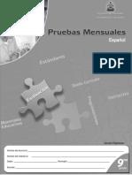 Pruebas Formativas Español 9no grado.pdf