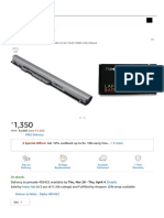 Clublaptop Laptop Battery for HP LA