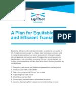 Lightfoot Transit Policy